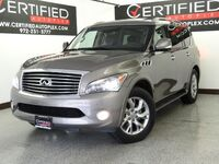 INFINITI QX56 4WD ENTERTAINMENT SYSTEM CONVENIENCE PKG NAVIGATION SUNROOF LEATHER HEATED 2013