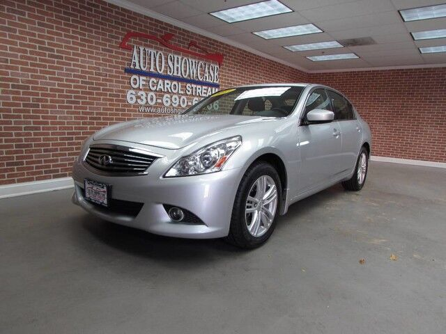 2013 Infiniti G37 Sedan x Navigation Carol Stream IL