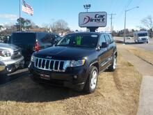 2013_JEEP_GRAND CHEROKEE_LAREDO 4X4, BUY BACK GUARANTEE AND WARRANTY,  NAV, REMOTE START, LEATHER, ROOF RACKS, BEAUTIFUL !!_ Virginia Beach VA