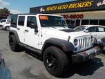 2013 JEEP WRANGLER UNLIMITED SPORT 4X4, BUYBACK GUARANTEE, WARRANTY, HARD TOP, BLUETOOTH, TOW PKG,RUNNING BOARDS,CLEAN!