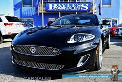 2013_Jaguar_XK_XKR Coupe / 5.0L Supercharged V8 510HP / Dynamic Pkg / Heated & Cooled Leather Seats / Heated Steering Wheel / Navigation / Bowers & Wilkins Speakers / Bluetooth / Back Up Camera / Keyless Entry & Start / Only 16k Miles_ Anchorage AK