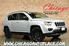2013_Jeep_Compass_Sport - 1 OWNER LIMITED EDITION LEATHER HEATED SEATS SUNROOF BLUETOOTH 6-DISC CD CHANGER BLACK WHEELS_ Bensenville IL