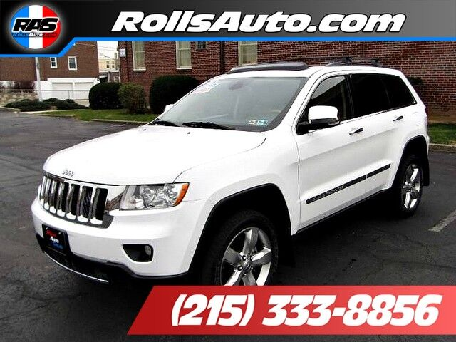 2013 jeep grand cherokee overland philadelphia pa 21666677. Black Bedroom Furniture Sets. Home Design Ideas