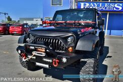 2013_Jeep_Wrangler_Sport / 4X4 / Automatic / Auto Start / 18in Mickey Thompsons / 18in aftermarket Wheels / Barricade 9500LBS Winch / Aftermarket Front Bumper / Aftermarket Off-Road Lamps / Aux Input / Cruise Control / Tow Pkg_ Anchorage AK