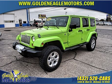 2013_Jeep_Wrangler Unlimited_4WD 4dr Sahara_ Midland TX
