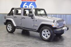 2013_Jeep_Wrangler Unlimited_4WD! SAHARA EDITION! HARD TOP! UPGRADED SUBWOOFER PKG! SUPER LOW MILES!!_ Norman OK