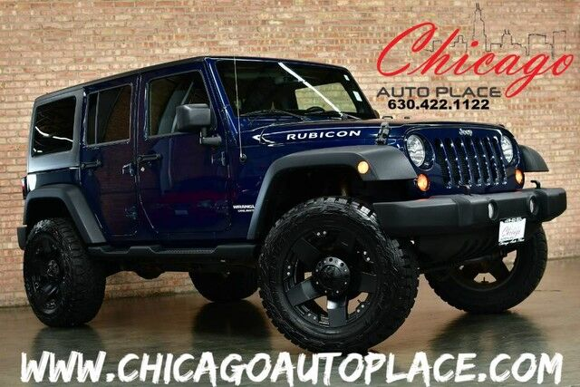 2013 Jeep Wrangler Unlimited Rubicon Bensenville IL ...