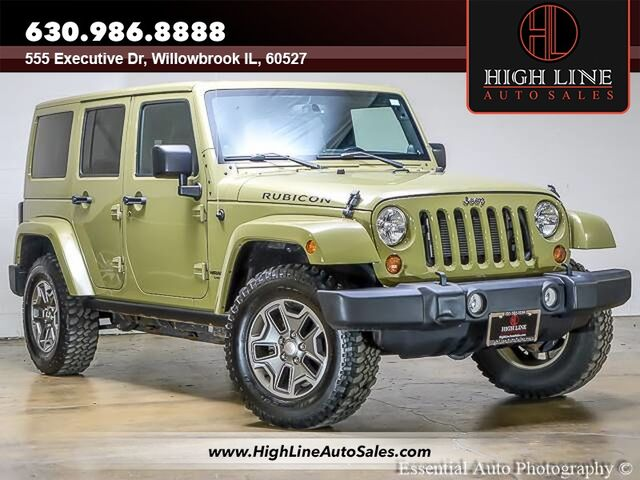 2013 Jeep Wrangler Unlimited Rubicon Willowbrook IL