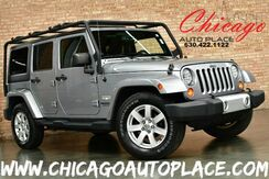 2013_Jeep_Wrangler Unlimited_Sahara - 3.6L VVT V6 ENGINE 1 OWNER 4 WHEEL DRIVE BLACK CLOTH SAHARA SEATS BLACK HEAVY DUTY ROOF RACK BLUETOOTH CONNECTIVITY_ Bensenville IL