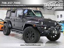 2013_Jeep_Wrangler Unlimited Sahara_2 Owner Wheels LED Lights Exhaust Supercharged_ Hickory Hills IL