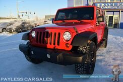 2013_Jeep_Wrangler Unlimited_Sport / 4X4 / Automatic / 4 Door Hard Top / Alpine Speakers & Subwoofer / Bluetooth / Power Mirrors Windows & Locks / Cruise Control / Aluminum Wheels / Running Boards / Tow Pkg_ Anchorage AK