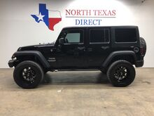 2013_Jeep_Wrangler Unlimited_Sport Lifted 4x4 35 Tires Hard Top 4x4 Works Pro Lift_ Mansfield TX