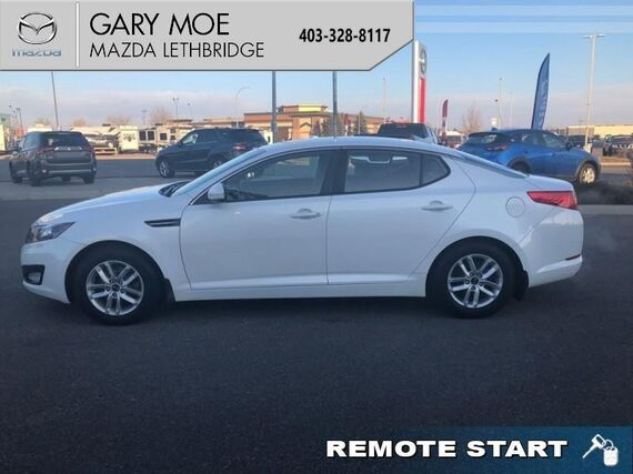 2013_Kia_Optima_EX  - Bluetooth - Air - Rear Air - $117.77 B/W_ Lethbridge AB