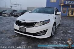 2013_Kia_Optima_SX Limited / Heated & Cooled Leather Seats / Dual Sunroof / Infinity Speakers / Navigation / Bluetooth / Back Up Camera / HID Headlights / Keyless Entry & Start / Only 34K Miles / 1-Owner_ Anchorage AK