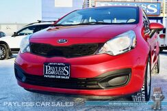 2013_Kia_Rio_LX / Automatic / Auto Start / Air Conditioning / Low Miles / 36 MPG_ Anchorage AK