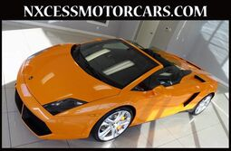 Lamborghini Gallardo NAVIGATION CARBON INTERIOR PKG JUST 3K MILES. 2013