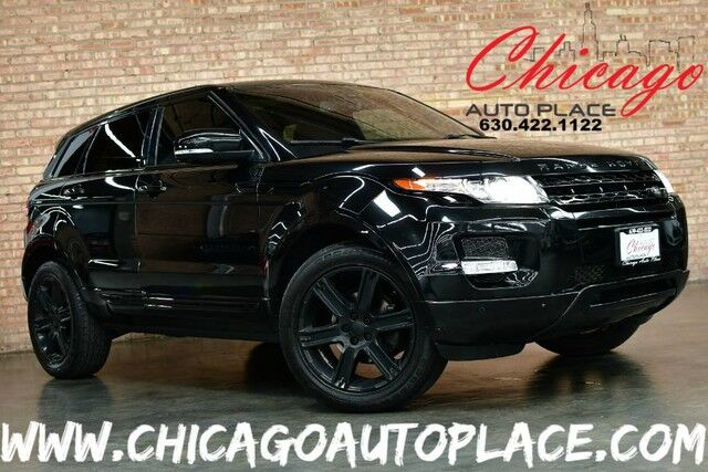 2013 Land Rover Range Rover Evoque Pure Premium - 2.0L SI4 TURBO ENGINE 4 WHEEL DRIVE NAVIGATION SURROUND VIEW PARKING CAMERAS KEYLESS GO BLACK LEATHER HEATED SEATS PANO ROOF XENONS MERIDIAN AUDIO POWER LIFTGATE Bensenville IL