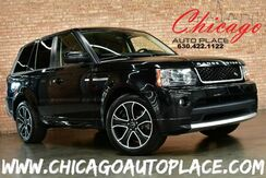 2013_Land Rover_Range Rover Sport_HSE - 5.0L V8 ENGINE 4 WHEEL DRIVE NAVIGATION BACKUP CAMERA KEYLESS GO BLACK LEATHER/SUEDE INTERIOR HEATED SEATS_ Bensenville IL