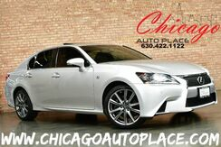 2013_Lexus_GS 350_F-SPORT - ALL WHEEL DRIVE NAVIGATION BACKUP CAMERA BLACK LEATHER HEATED/COOLED SEATS KEYLESS GO ACTIVE BLINDSPOT_ Bensenville IL