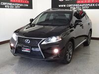 Lexus RX 350 AWD F SPORT PKG CONVENIENCE PKG BLIND SPOT ASSIST NAVIGATION SUNROOF 2013