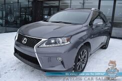 2013_Lexus_RX 350_F Sport / AWD / Heated & Cooled Leather Seats / Sunroof / Blind Spot Alert / Navigation / Bluetooth / Back Up Camera / Cruise Control / 26 MPG / 1-Owner_ Anchorage AK