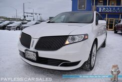2013_Lincoln_MKT_EcoBoost AWD / Heated & Cooled Leather Seats / Heated Steering Wheel / Auto Start / Panoramic Sunroof / THX Speakers / Navigation / Blind Spot Alert / Back Up Camera / 3rd Row / Seats 6 / Tow Pkg / 1-Owner_ Anchorage AK