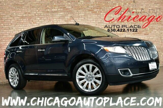 2013 Lincoln MKX AWD - 3.7L TI-VCT V6 ENGINE NAVIGATION BACKUP CAMERA HEATED/COOLED SEATS HEATED STEERING WHEEL PANO ROOF THX AUDIO POWER LIFTGATE XENONS Bensenville IL