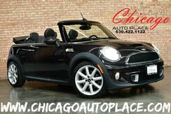 2013_MINI_Cooper Convertible_S - HIGHGATE EDITION 1.6L TWIN SCROLL TURBO ENGINE NAVIGATION DARK TRUFFLE LEATHER HEATED SEATS HARMAN/KARDON AUDIO KEYLESS GO XENONS_ Bensenville IL