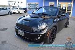 2013_MINI_Cooper Roadster_John Cooper Works / Convertible / 6-Spd Manual / Heated Leather Seats / Aux Jack / Cruise Control / 35 MPG / Only 42K Miles_ Anchorage AK
