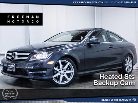 2013_Mercedes-Benz_C 250_Coupe Backup Cam Htd Sts Local_ Portland OR
