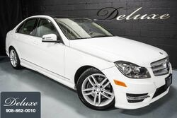 Mercedes-Benz C 300 4MATIC Sport, Premium Package, Navigation System, Rear-View Camera, Heated Seats, Panorama Sunroof, 2013