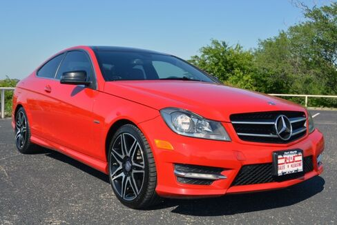 2013_Mercedes-Benz_C-Class_C 250 Coupe_ Fort Worth TX