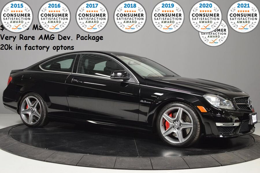 2013_Mercedes-Benz_C-Class_C 63 AMG_ Glendale Heights IL