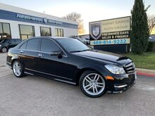 2013_Mercedes-Benz_C250 SPORT NAVIGATION_HEATED LEATHER SEATS, SUNROOF, PREMIUM SOUND!!! LOADED!!! VERY CLEAN!!! GREAT VALUE!!!_ Plano TX