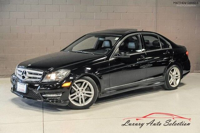 2013_Mercedes-Benz_C300 4Matic Sport_4dr Sedan_ Chicago IL