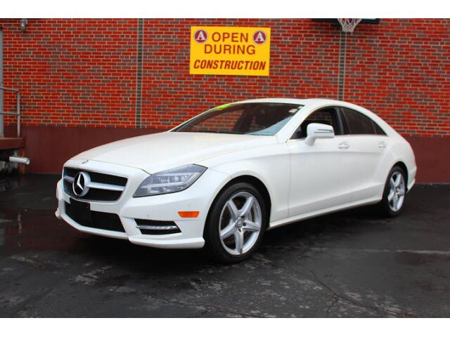 2013 mercedes benz cls 550 4matic merriam ks 22324814 for Mercedes benz of kansas city aristocrat