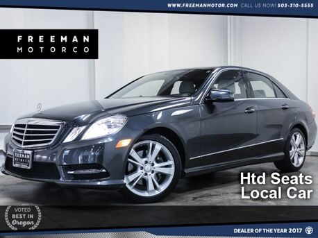 2013_Mercedes-Benz_E 350_4MATIC KeyGO Htd Seats Backup Cam_ Portland OR