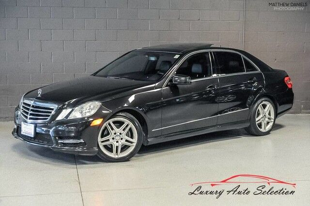 2013_Mercedes-Benz_E-Class_E 350 Sport 4Matic_ Chicago IL