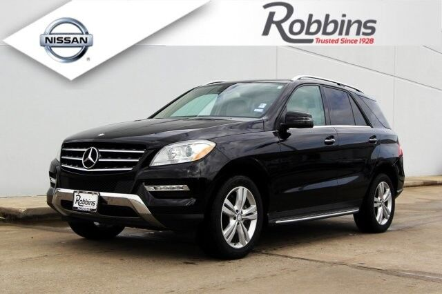 2013 Mercedes Benz M Class ML 350 Houston TX