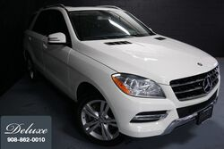 Mercedes-Benz ML 350 4MATIC, Premium Package, Navigation System, Rear-View Camera, Media Interface, Bluetooth Connectivity, Heated Leather Seats, Power Sunroof, 19-Inch Alloy Wheels, 2013