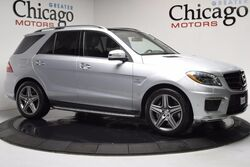 Mercedes-Benz ML63 Amg Loaded 1 Owner Carfax Certified Designo Wood Trim 2013
