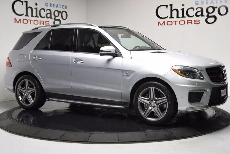 2013_Mercedes-Benz_ML63 Amg Loaded 1 Owner Carfax Certified_Designo Wood Trim_ Chicago IL