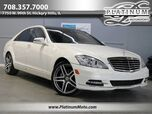 2013 Mercedes-Benz S550 4Matic Best Color Combo Pano Nav Wood Loaded