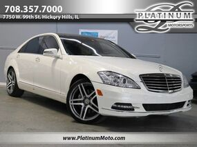 Mercedes-Benz S550 4Matic Best Color Combo Pano Nav Wood Loaded 2013