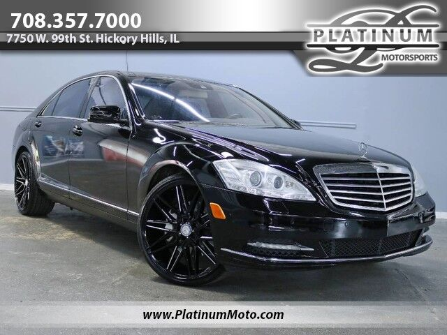 2013 Mercedes-Benz S550 4Matic Pano Nav Leather 22 Wheels Hickory Hills IL