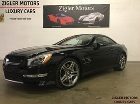 Mercedes-Benz SL-Class warranty 8/2019 SL 63 AMG $153.5k MSRP 2013