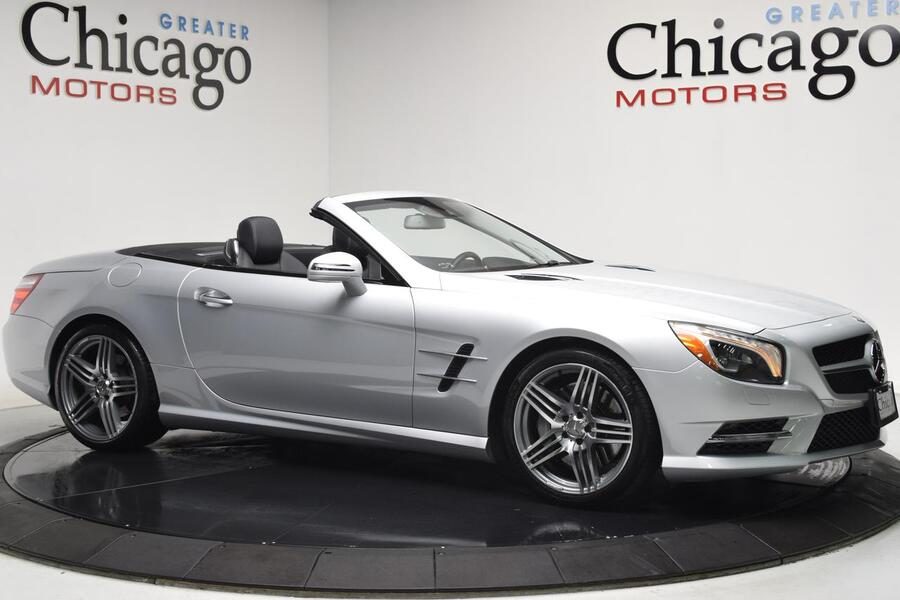 2013_Mercedes-Benz_Sl550 19k Original Miles! $113,255 miles!_1 Owner Carfax Certified_ Chicago IL