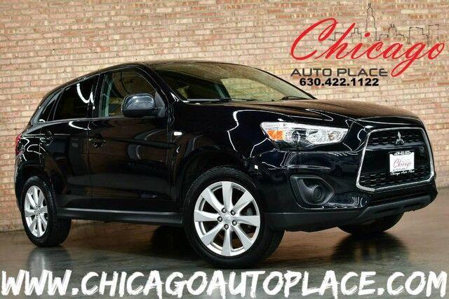 2013 Mitsubishi Outlander Sport ES - 2.0L MIVEC I4 ENGINE ALL WHEEL DRIVE 1 OWNER PADDLE SHIFTERS NAVIGATION BLACK LEATHER HEATED SEATS Bensenville IL