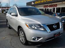 2013_NISSAN_PATHFINDER_SL,WARRANTY, LEATHER, BACKUP CAM, REMOTE START, SUNROOF, HEATED SEATS, POWER LIFTGATE, 3RD ROW, A/C!_ Norfolk VA