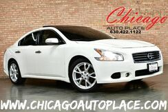 2013_Nissan_Maxima_3.5 SV w/Sport Pkg - 3.5L V6 ENGINE FRONT WHEEL DRIVE NAVIGATION BACKUP CAMERA PANO ROOF KEYLESS GO TAN LEATHER HEATED SEATS XENONS_ Bensenville IL